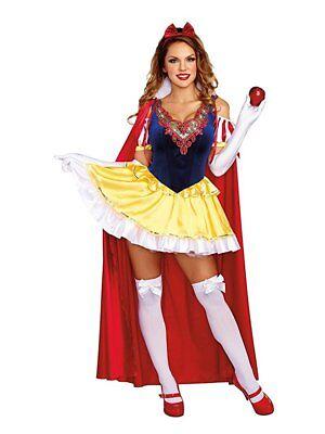 Dreamgirl Märchenprinzessin Fantasie Erwachsene Damen Halloween Kostüm - Prinzessin Outfits Erwachsene