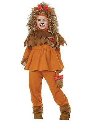 Lion Costumes For Toddlers (Cowardly Lion Toddler Costume - Wizard of Oz for Kid Child 3T-4T or)
