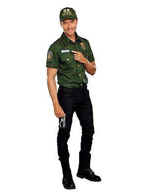 Dreamgirl Agent Bill D. Wall US Border Patrol Mens Halloween Adult Costume 10623 - Halloween Costume Border