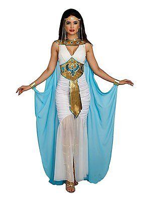 Dreamgirl Queen Of De Nil Fluss Ägyptisch Erwachsene Damen Halloween - Fluss Kostüm