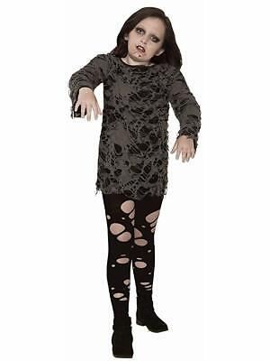 Zombie Costume For Girl (Child Zombie Girl Costume )