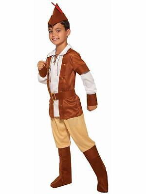 Child Sherwood Huntsman Medieval Robin Hood Costume - Kids Robin Hood Costumes