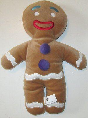 SHREK Movie Plush GINGY gingerbread man doll 12