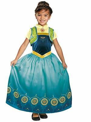 Anna Frozen Fever Deluxe Costume - Small - Anna Frozen Fever Deluxe Kostüm