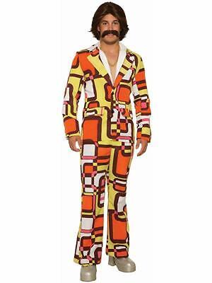 Adult 70s Disco Leisure Suit Costume Standard](Leisure Suit Costume)