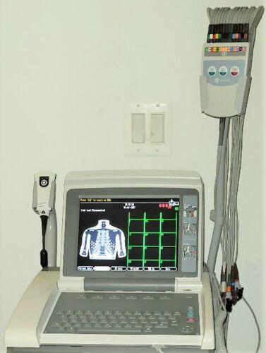 GE MAC 5500 HD-COLOR-CAM 14 HD-EKG-WIFI-BARCODE SCANNER-*CART SOLD SEPARATELY*