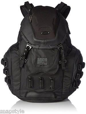 New Men's OAKLEY Kitchen Sink Backpack 34L Capacity 92060A-013 Stealth Black Bag