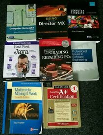 Degree level ICT Textbooks (8 in total)