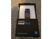 Samsung gear fit2 in black. Brand new