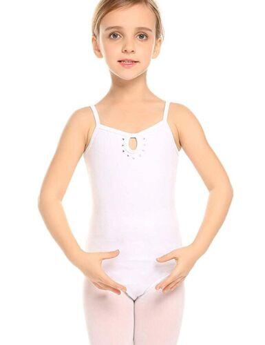 Arshiner Kids Girl Slim Ballet Dance Leotard Rhinestone Cami