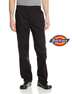 Dickies Chef Double Zip Cargo Pants With Elastic Waist And Drawstring Dc202