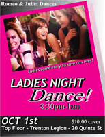 LAIDIES NIGHT- SINGLES PARTY -MEN DO NOT MISS IT!