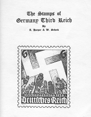 Catalogue The Stamps Of Germany Third Reich Harper & Scheck Black And White -  - ebay.it