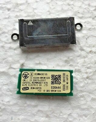 SONY VAIO VGN-FW BLUETOOTH MODULE BOARD W/ BRACKET QDS-BRCM1026 for sale  Shipping to Ireland