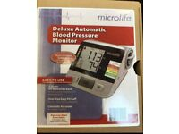 Microlife Deluxe Automatic Blood Pressure Monitor - New - £10