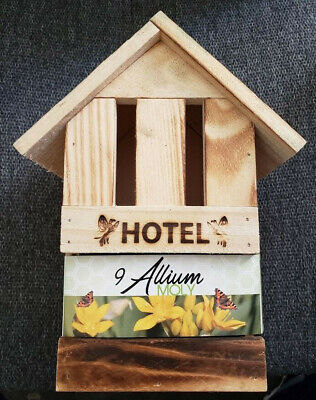 Butterfly Hotel House Shelter Habitat 9 Allium Bulbs Butterflies Garden Flower (Butterfly Garden Habitat)