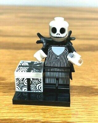 Lego Disney Minifigure Jack Skellington Great for Halloween NEW Shiny