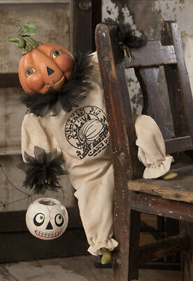 Bethany Lowe Halloween Pumpkin Pie Clown—NEW FOR 2020!