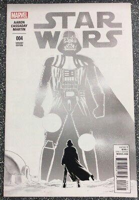Star Wars #4 (2015) John Cassaday 1:100 Sketch Cover Variant