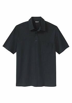 KingSize Men's Big & Tall Golf Polo With Pocket NEW (Big And Tall Polo Shirts With Pockets)