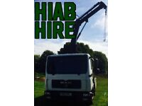 LORRY CRANE HIAB HIRE & TRANSPORTATION SERVICE