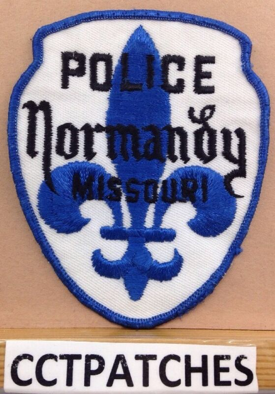 NORMANDY, MISSOURI POLICE SHOULDER PATCH MO 2