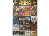Abba rare uk stampsheet