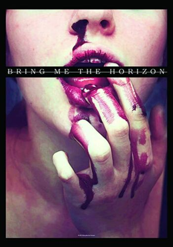 BRING ME THE HORIZON - BLOOD LUST - FABRIC POSTER - 30 x 40 WALL HANGING HFL1135