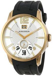 Romanson Men's Modern Swiss Quartz Big Date Luminous Hands TL9213MM1GAS1G