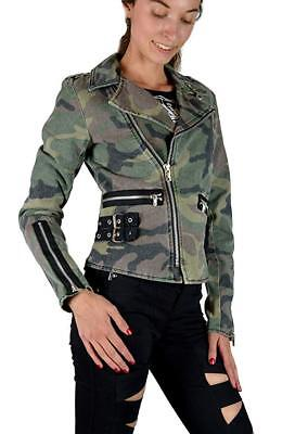 Tripp NYC D-Ring Moto Army Camouflage Camo Punk Rockabilly Gothic Biker BD3243P Clothing, Shoes & Accessories