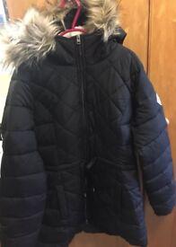 Hollister Parka Jacket/Coat