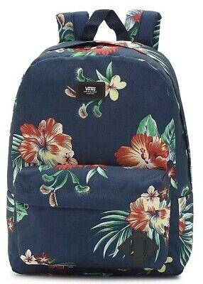 Vans Old Skool III 3 Navy Floral Rucksack Backpack School Bag