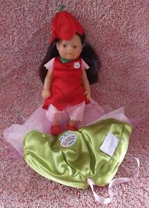 MY MINI BABY BORN FLOWER FAIRY DOLL WITH HER CARRY POUCH ZAPF Thornlie Gosnells Area Preview