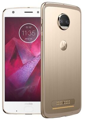 New Motorola Moto Z2 Force XT1789 4G LTE AT&T 64GB Fine Gold  Phone - Unlocked