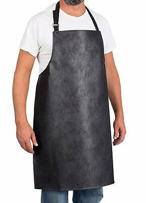 Heavy Duty Vinyl Adjustable Waterproof Apron Fishing Butcher Cleaning Kitchen Vinyl Kitchen Apron
