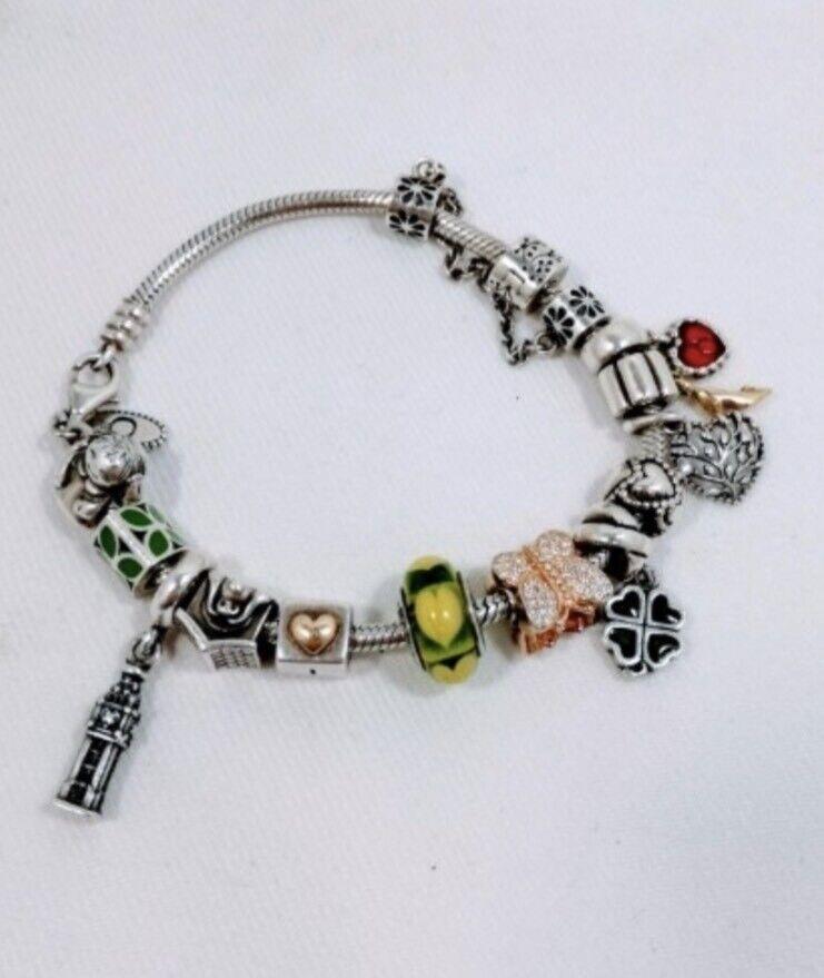 222afa729 Pandora Bracelet w/ 14 charms | in Newark, Nottinghamshire | Gumtree