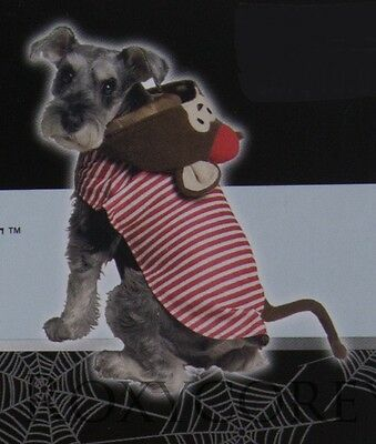 Celebrate it Brown Monkey Pet Dog Costume Size Medium 15-30 lbs - Monkey Dog Costumes