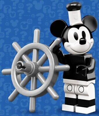 LEGO VINTAGE MICKEY MOUSE MINIFIGURE THE DISNEY MINIFIGURES SERIES 2 - 71024 #1