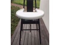 Ikea baby toddler wooden high chair