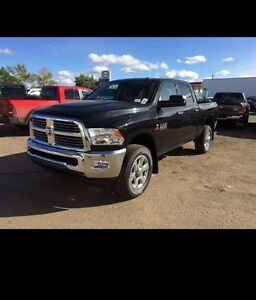 2016 ram 2500 diesel. Fully loaded slt, only 13 000km