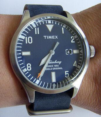 Timex Uhr WATERBURY COLLECTION TW2P64500 INDIGLO mit Licht und Datum online kaufen