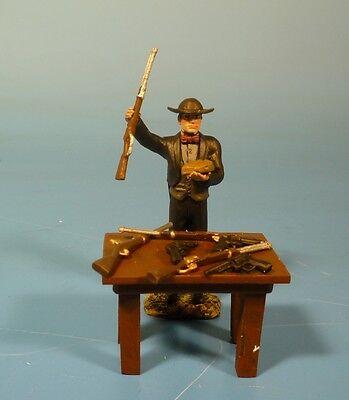 Orig.Lineol (Elastolin) Wild West – Waffenhändler – 7cm Serie