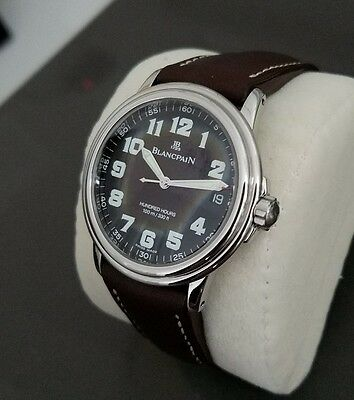 Beautfiful Blancpain Hundred Hours, just back from factory service - Must See!