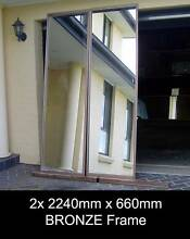 XL MIRRORS Framed - 2/4x 2240 x 660 - GYM STUDIO DANCE FITNESS Penrith Penrith Area Preview