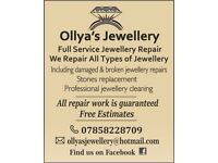 Jewellery Repair Services & Jewellery Design