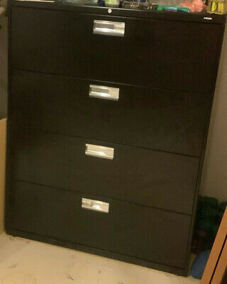 Hon Series Four Drawer Lateral File Cabinet  42 W X 53 H X 19.25d