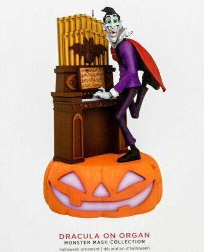 Hallmark Dracula on Organ 2019 Ornament Monster Mash Collection