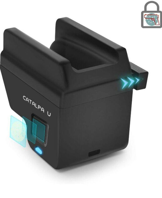 CATALPA U  Biometric Trigger handgun Lock Glock  DOJ Approved FSD safety