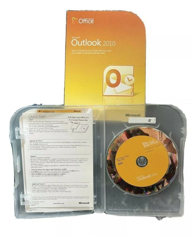 Microsoft Outlook 2010 Mail Management - Complete Product -1 PC - Product key