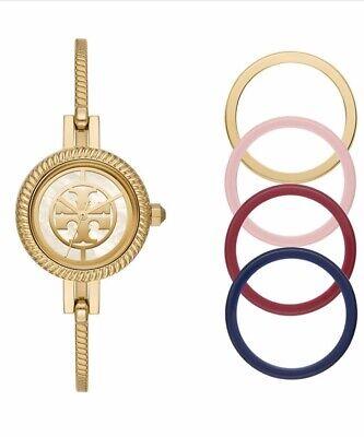 Tory Burch Reva Gold Bracelet Watch